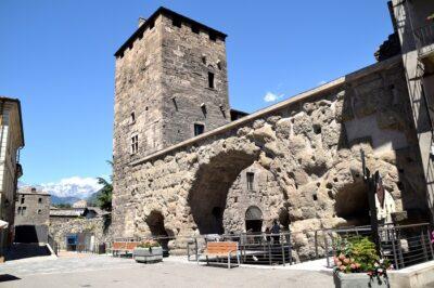 Porta Praetoria Aosta