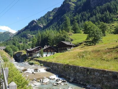 Villaggio Walser a Gressoney