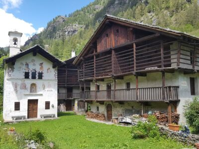 Villaggio di Eckò a Gressoney