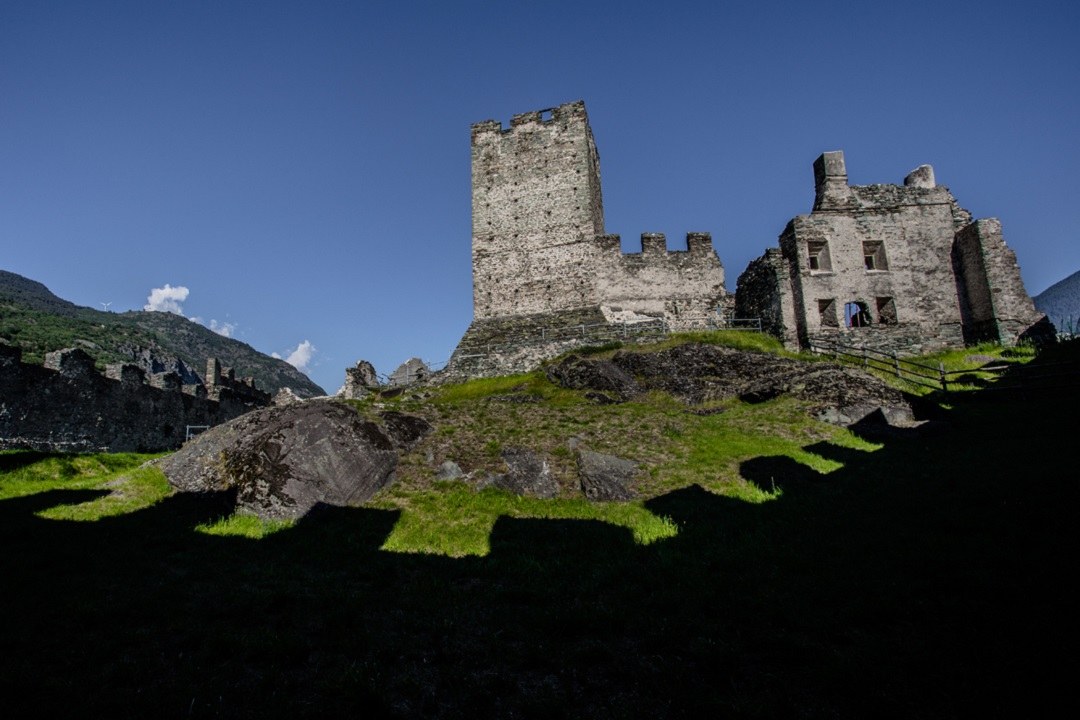 Interni castello di Cly
