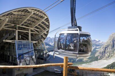 Cabine skyway Monte Bianco
