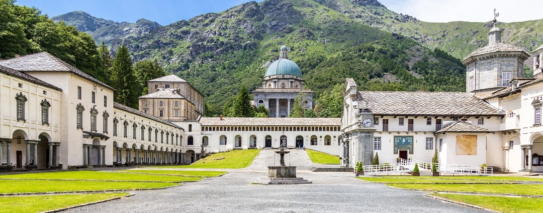 Santuario e Madonna Nera di Oropa