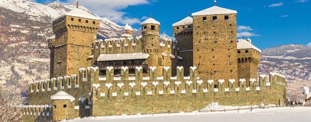Castelli della valle d'aosta più belli da visitare - Castello di Fénis