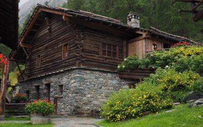 Villaggio Mascognaz, luogo fiabesco Walser in Val d'Ayas