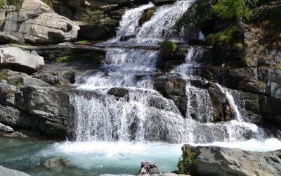 Le magnifiche cascate di Lillaz a Cogne