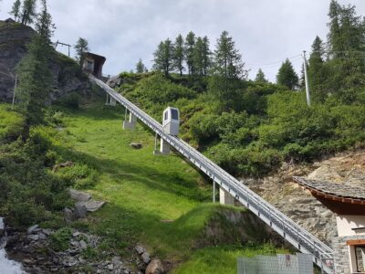 ascensore per Cheneil a Valtournenche