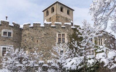 Castello di Introd, il castello tra le acque