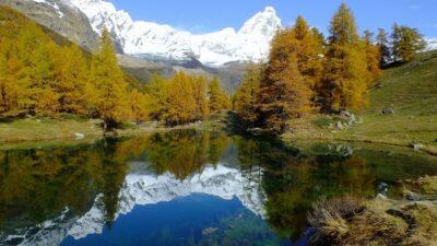 Lago Blu in Valtournenche