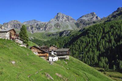 Villaggio Cuneaz in Val d'Ayas