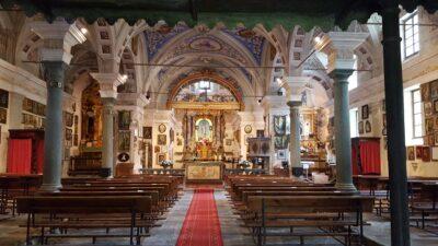 Interni Santuario di Machaby