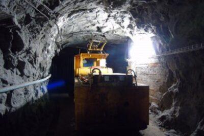 Galleria delle miniere di Cogne