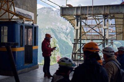 visita alle miniere di Cogne