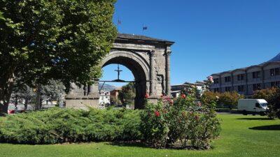 Arco d'Augusto ad Aosta