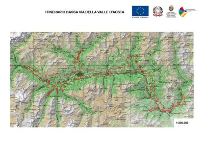 Cammino Balteo mappa