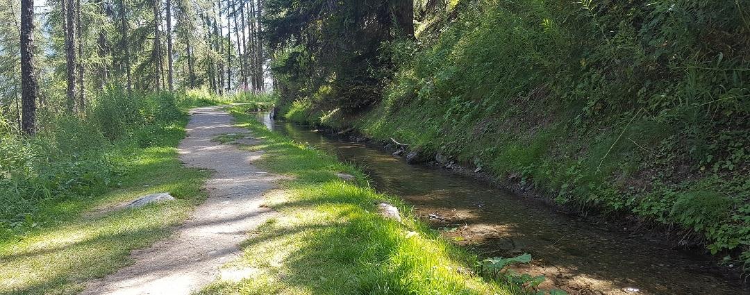 passeggiate lungo i ru della valle d'aosta